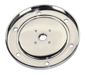 CHROME SUMP PLATE