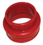 RED URETHANE D/P BOOT,EA