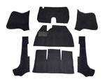 CARPET KIT 58-70 7PC. BLK