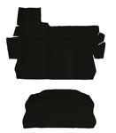 CARPET KIT 73-79 2PC. BLK
