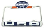 EMPI LICENSE PLATE FRAME,FRT