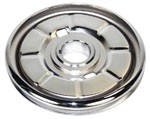 CHROME STOCK CRANK PULLEY
