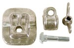 SEAT CLAMP KIT, 4 PCS.