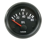 OIL PSI GAUGE, 0-80