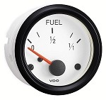 FUEL GAUGE,UNIV SENDER,WHITE